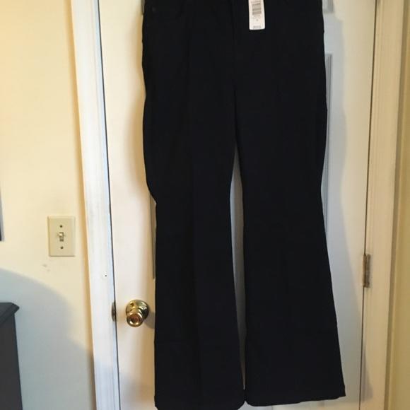 Torrid black stretch boot cut jeans